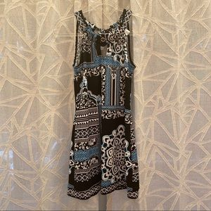 White House Black Market Blue Mini Tank Dress S